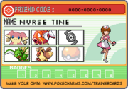 Tine Trainer Card