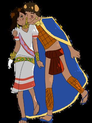 Aztec empire and manauia by renntorakwolf-d5m075z
