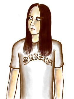 Varg Vikernes by Daria Syntha