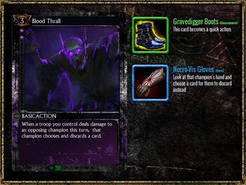 BloodThrall Equipment