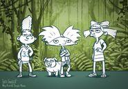 Steve Lowtwait's Jungle Movie Art