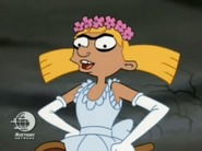 Helga as the Ghost Bride
