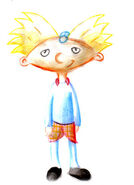 Hey Arnold by lampii