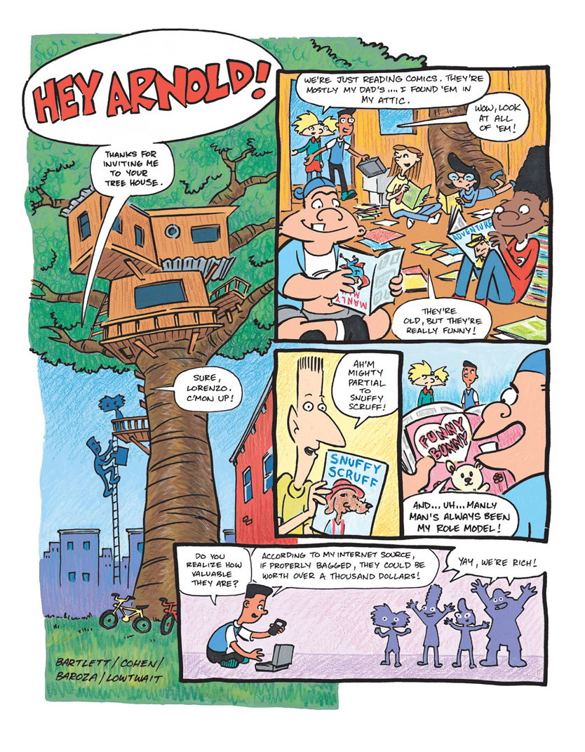 Nick comics 01. Page 1