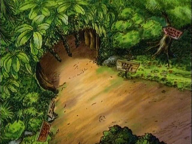 File:Elk Island Cave entrance.jpg
