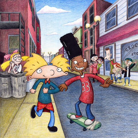 File:Hey Arnold cover art promo by unluckystunt.jpg