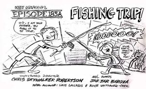 Fishing Trip storyboard cover