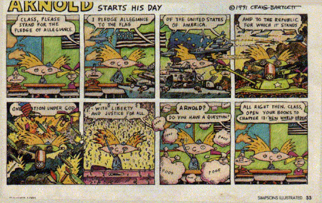 File:Simpsons Illustrated 02. Arnold Starts His Day.png