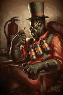 Gentlemann of the fire