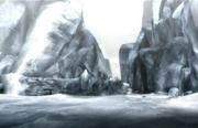 Icy tundra