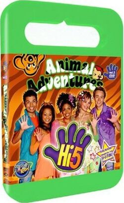 Hi-5 USA Animal Adventures dvd