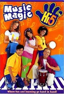 Hi-5 USA Music Magic dvd