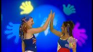 Charli & Kathleen Hand In Hand