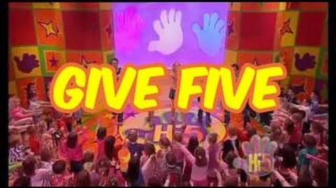 Give Five - Hi-5 - Season 5 Song of the Week-0