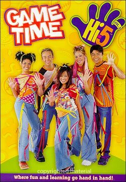 Hi-5 USA Game Time dvd