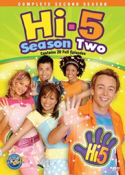 Hi-5 USA Season 2 dvd