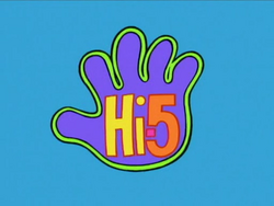 Hi-5 logo 1999-2005 screen version