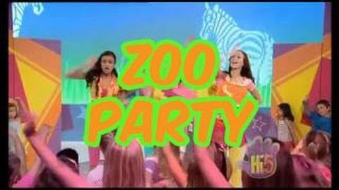 Zoo Party - Hi-5 - Season 11 Song of the Week