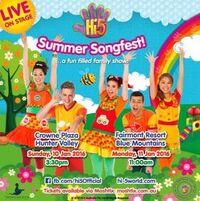 Hi-5 Summer Songfest