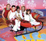 Hi-5 USA sleigh ride