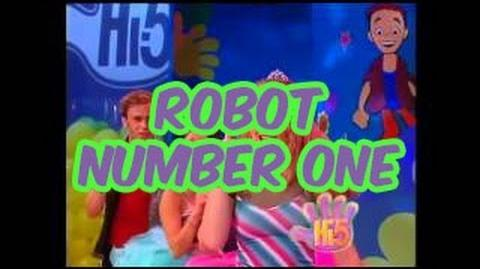 Robot Number One - Hi-5 - Season 2 Song of the Week