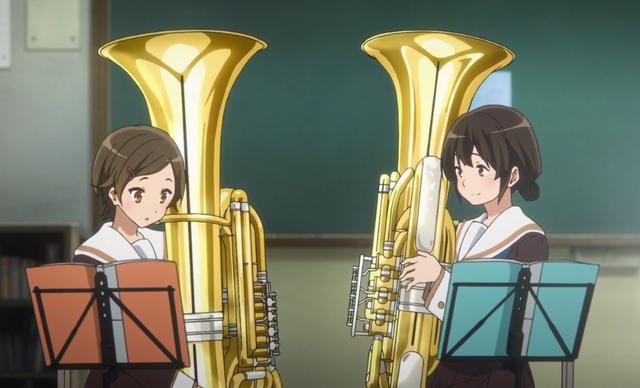 File:Kazuki and Riko holding the Tuba.PNG