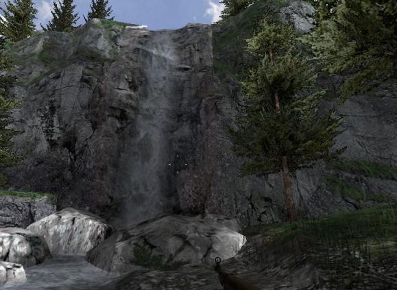File:Alpine waterfall.jpg