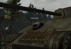 Tank Machine Gun - Panther