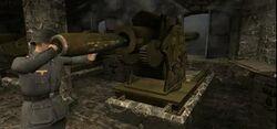 Cousen Fortress gun loading
