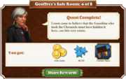 Quest Geoffrey's Safe Room 4-Rewards