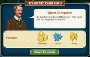Quest It's All My Vault 2-Rewards