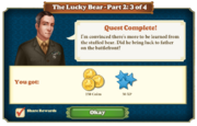 Quest The Lucky Bear Part Two 3-Rewards