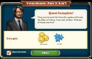 Quest Twin Hearts Part Three 6-Rewards