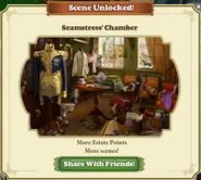 Scene Unlocked Seamstress' Chamber