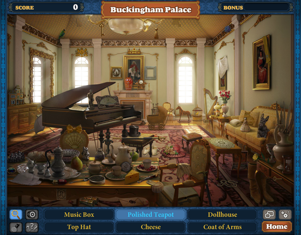 Scene Buckingham Palace-Screenshot