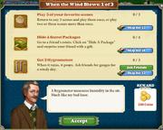 Quest When The Wind Blows 1-Tasks