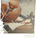 HO StillLife Painting framed-icon