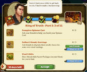 Quest Ring of Truth-Part One 3-Tasks