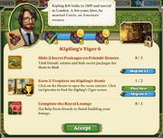 Quest Kipling's Tiger 6-Tasks