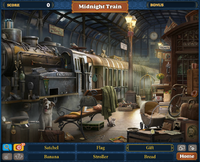 Scene Midnight Train-Screenshot