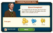 Quest Leaning Tower 3-Rewards