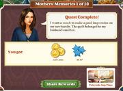 Quest Mother's Memories 1-Rewards