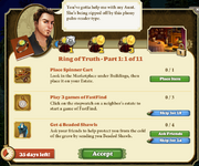 Quest Ring of Truth-Part One 1-Tasks