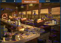 Scene Regina's Diner-Map