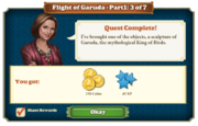 Quest Flight of Garuda Part One 3-Rewards