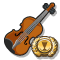 Quest Task Trophy Italian Violin-icon