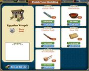 Marketplace Egyptian Temple-infos