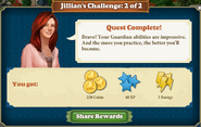 Jillian's Challenge 2 Rewards