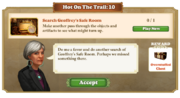 Quest Hot on the Trail 10-Tasks