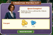 Quest A Basket Case-Part 2 of 5-Rewards
